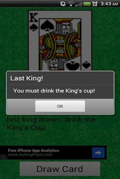 King's Cup (drinking game) APK : Download v1 2 for Android
