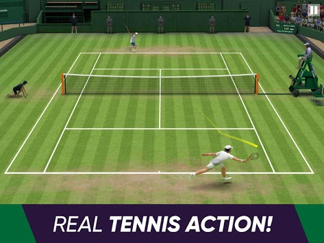 Tennis World Open 2019 APK screenshot 1