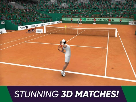 Tennis World Open 2019 APK screenshot 3