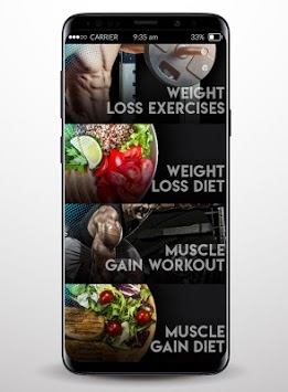 Home Fitness - Diet and Workout APK screenshot 2