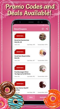 Donut Coupons APK screenshot 3
