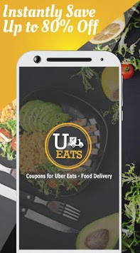 Coupons for Uber Eats - Food Delivery APK screenshot 1