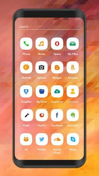Launcher And Theme For A6 2018 Free Icon Packs Apk Download For