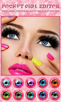 Girl Face Makeup Changer Photo Editor APK : Download v1 7
