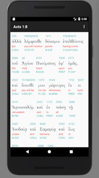 Interlinear Koine Bible APK Download for Android latest version for free