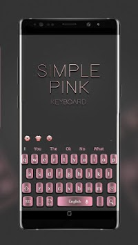 Simple Textured Pink Keyboard APK : Download v10001003 for