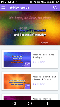 Fun Karaoke APK : Download v0 3 6 for Android at AndroidCrew