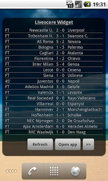Football Livescore Widget APK : Download v1 0 for Android at