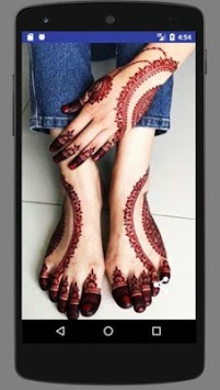 Foot Mehndi Designs 2019 Latest APK screenshot 3