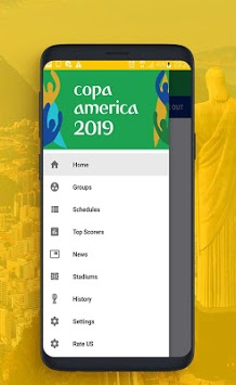 Live scores for the American Cup 2019 APK screenshot 2