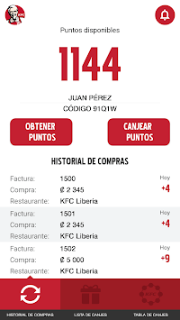 KFC CR APK screenshot 2