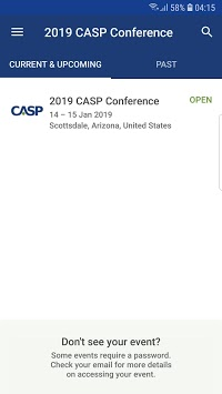 2019 CASP Conference APK screenshot 2