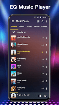 Music Player & Audio Player(10 bands Equalizer) APK screenshot 3