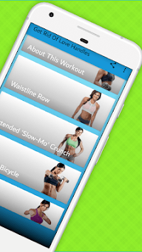 7 Moves Love Handle Workout Routine -Towel Workout APK : Download v2