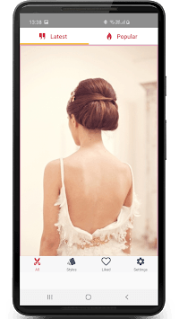 Hairstyles for Women and Girls: Step by Step Guide APK screenshot 2