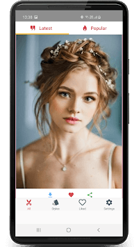 Hairstyles for Women and Girls: Step by Step Guide APK screenshot 3