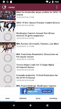 Colorado Hockey - Avalanche Edition APK screenshot 1