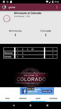 Colorado Hockey - Avalanche Edition APK screenshot 3