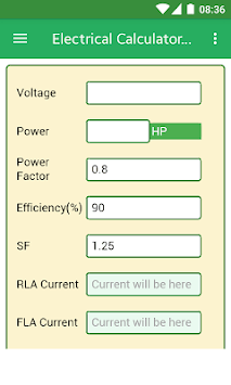 Electrical Calculators APK : Download v1 0 for Android at AndroidCrew