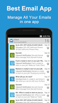 Email App for Outlook APK screenshot 1