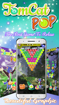 Bubble Shooter 2019 Challenge: New Tomcat Rescue APK screenshot 1