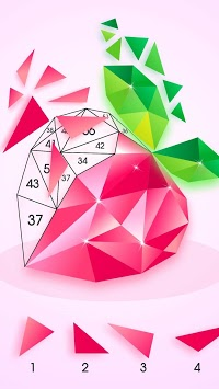 Poly Art : Color by Number APK screenshot 1