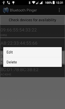 Bluetooth Pinger APK : Download v1 3 for Android at AndroidCrew