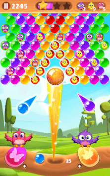 Bird Bubble Rescue APK screenshot 3