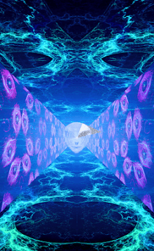 Runner in the UFO - Music visualizer & Live WP APK