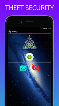 Don't Touch My phone Third Eye anti-theft security APK screenshot 2