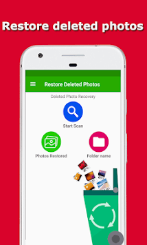 Restore Deleted Photos - Recover Deleted Pictures APK screenshot 2