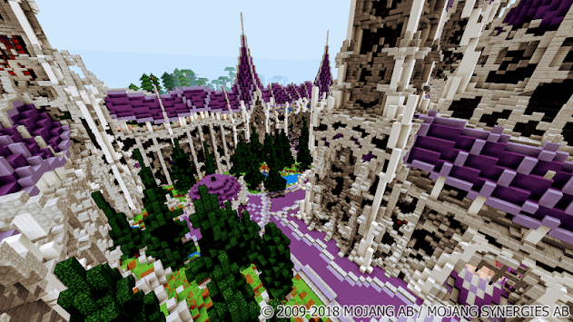 The Battle of Magic Factions  PvP Map for MCPE APK