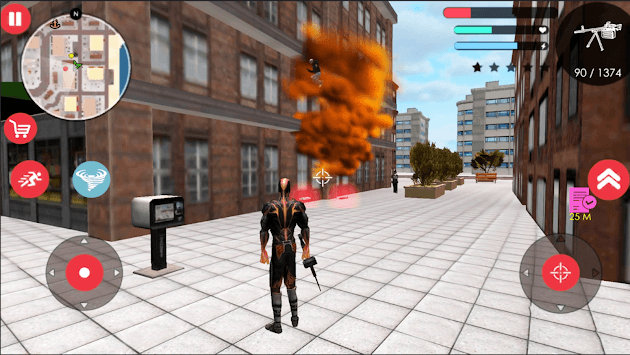 Immortal Flame Tornado Hero Vegas Crime Vice Sim 2 APK screenshot 3