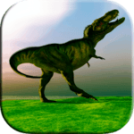 Dinosaur Scratch and Paint - Free Game for Kids APK icon