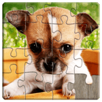 Dogs Jigsaw Puzzles Game - For Kids & Adults 🐶 APK icon