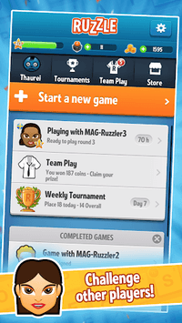 Ruzzle Free APK screenshot 2