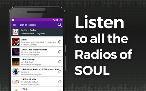 Soul Music Radio APK : Download v2 for Android at AndroidCrew