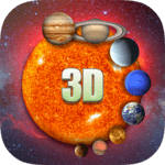 Solar System 3D Viewer APK icon