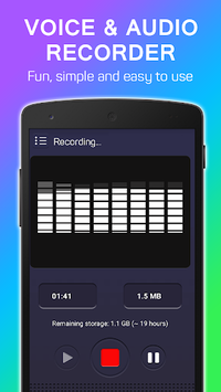 Voice Recorder - Audio Recorder APK : Download v1 0 1 for Android at