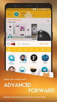 Tele X - unofficial Telegram APK : Download v4 6 8 for Android at