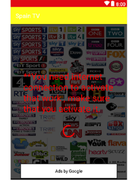 Direct television channels of the Spain channel APK : Download v4 0