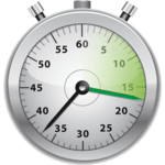 Talking Stopwatch: Interval Lap Timer with speech APK icon